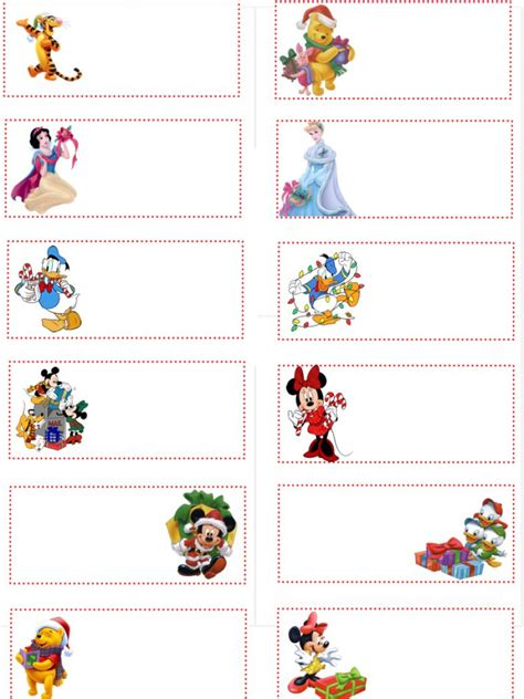 printable disney princess christmas tags free printable disney gift tags pictures 1
