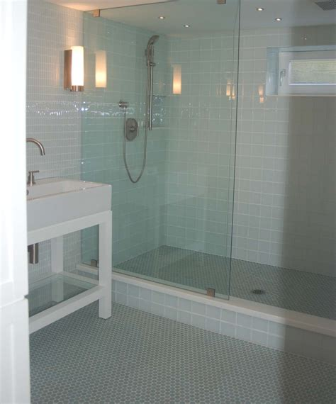bathroom glass shower ideas glass shower walls increasing bathroom extravagance values