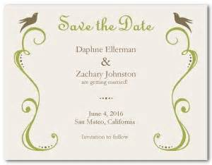 printable vintage save the date template