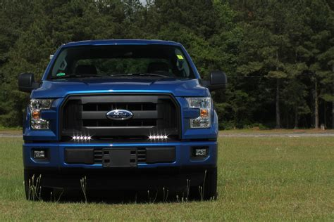ford truck led lights led daytime running lights for 2015 2016 ford f150 now