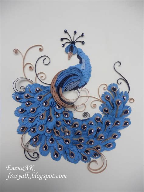 paper quilling peacock tutorial 155 best quilling peacocks images on pinterest paper