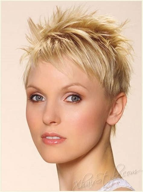 very short spiky pixie hairstyles short blonde haircuts for women short hairstyles 2017