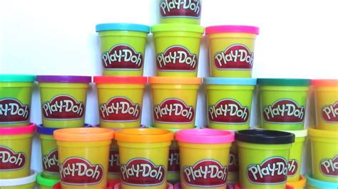 Play Doh Mega Pack 36 Cans play doh mega pack unboxing 36 colors