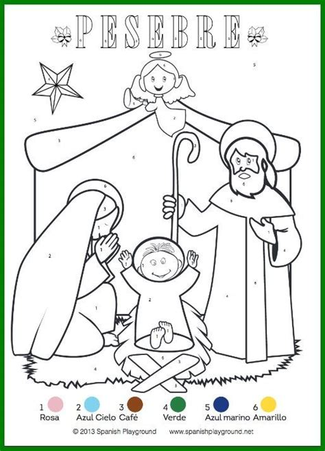 spanish family coloring page 124 best images about printables for teaching a foreign