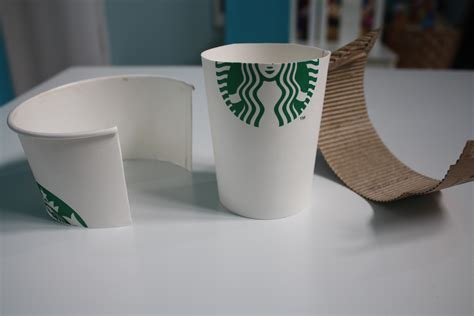 How To Make A Paper Coffee Cup - crafts made with paper cups