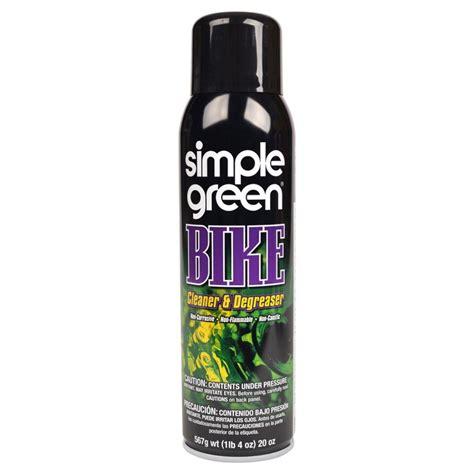 simple green  oz bike cleaner  degreaser aerosol   home depot