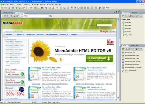 web design editor program abdio html editor v5 7 shareware download abdio html