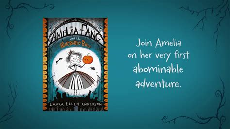 amelia fang and the amelia fang and the barbaric ball book trailer youtube