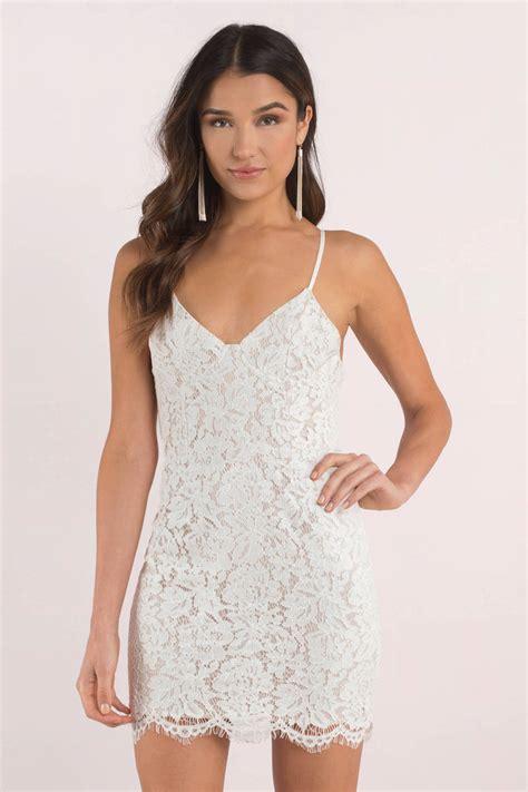 Bodycon White Dress trendy white bodycon dress tight dress white mini