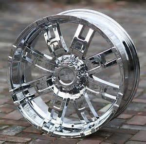 20 Inch Chrome Truck Wheels 20 Inch Chrome Wheels Helo 835 Chevy Gmc Dodge 1500 Trucks