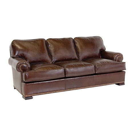 Classic Leather Sofa Classic Leather 3613 Meeting Sofa Discount Furniture At Hickory Park Furniture Galleries