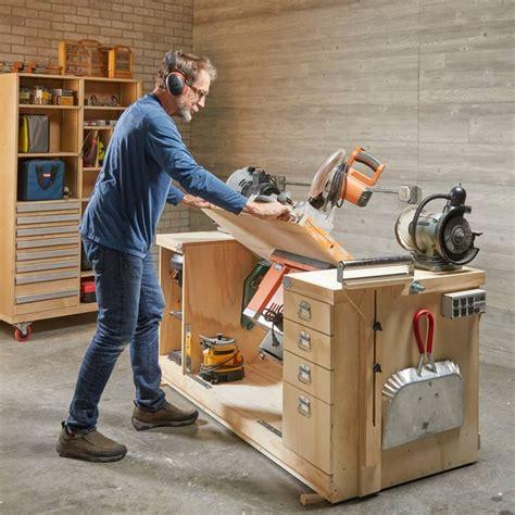 build  space saving flip top workbench
