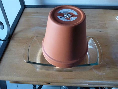 coleman kachel clay pot candle heater or made from metal house photos