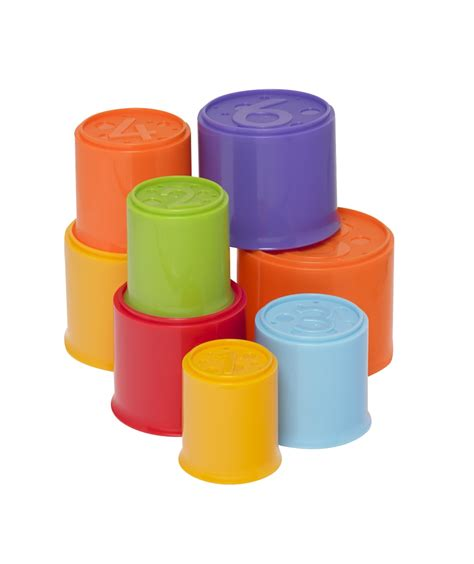 Promo Hexagon Stacking Cup stacking cups by mothercarewith cashback from mothercare