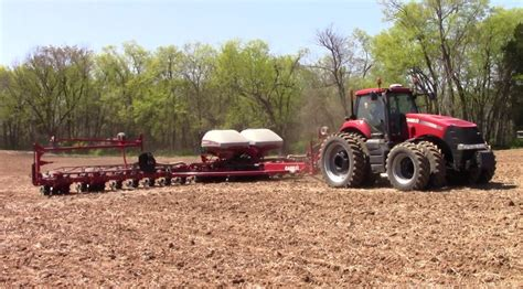 12 Row Corn Planter For Sale by Ih 1255 24 Row Corn Planter Pulled By A Ih