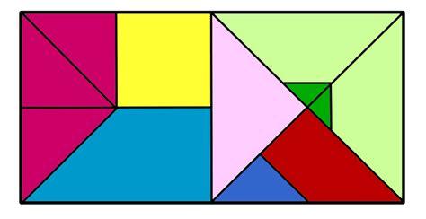 tangram cuadrado tangram clases de tangram