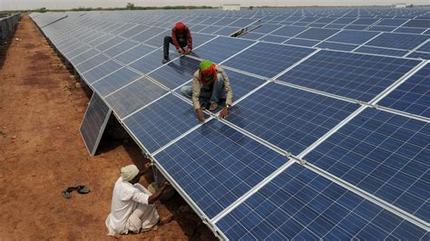solar panel in india for home india launches the largest solar plant in the world