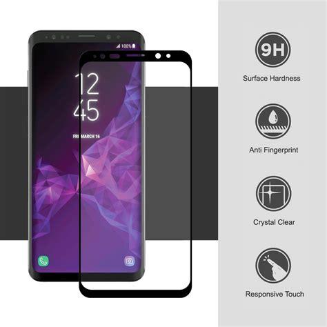 Samsung Galaxy S9 Plus Lp 3d Tempered Glass Antigores 1 black 3d tempered glass screen protector samsung galaxy