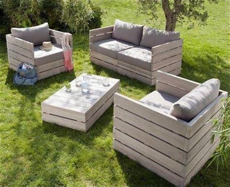 12 amazing diy pallet outdoor furniture ideas pallets