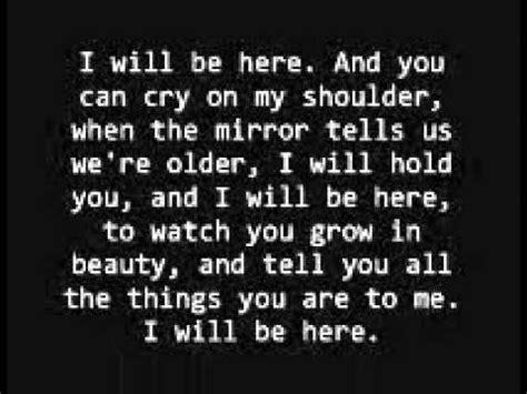 lyrics albert posis ft shiny i will be here cover albert posis mejia