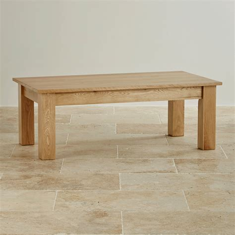 solid oak coffee table solid oak minimalist coffee table by oak furniture
