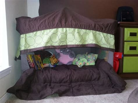 pack and play bed 17 best images about repurpose pack n play on pinterest portable toddler bed