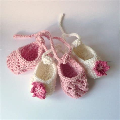 baby knitted shoes pattern baby ballerina shoes knitting pattern by katy farrell