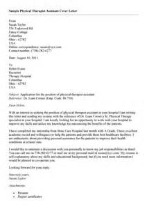 Therapy Aide Cover Letter by Physical Therapy Assistant Resume Sales Assistant Lewesmr