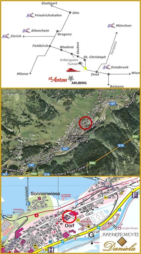 st anton appartments kontakt anreise appartements haus daniela apartment in st anton am arlberg