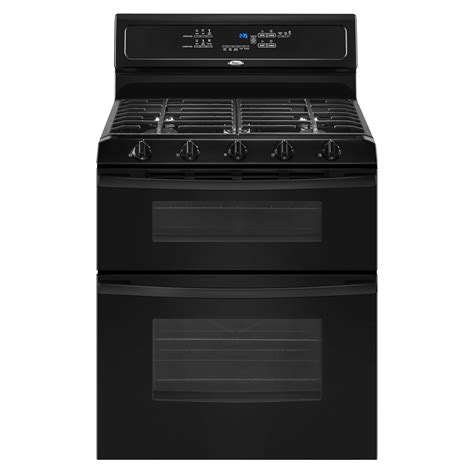 whirlpool gas range reviews whirlpool ggg390lxb 6 cu ft double oven gas range