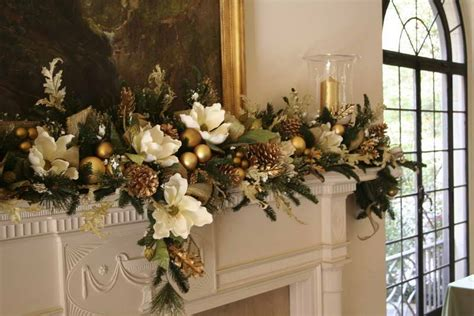decoration mantle gold flower arrangements with candles mantle flower arrangements beautiful