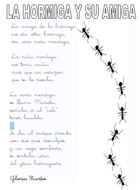 poemas de insectos para ninos proyecto colaborativo libro virtual gloria fuertes
