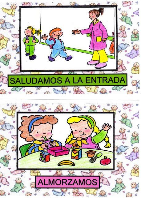 mis cosas de maestra carteles para los hbitos mi mundo infantil h 193 bitos en educacion infantil