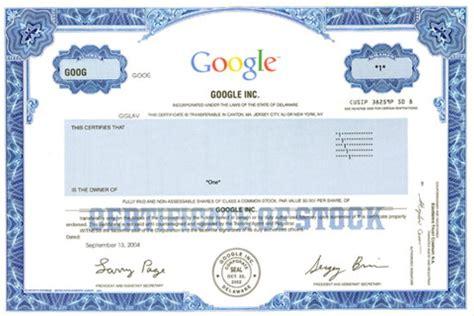 popular stock certificates savingadvice com blog