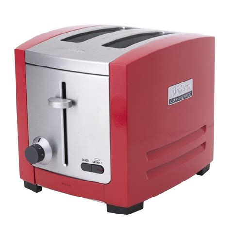 sunbeam cafe series 2 slot toaster red ta9205r buy bread toasters