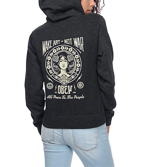 Sweaterhoodiezipper Obey 3 obey manw 2 hoodie zumiez