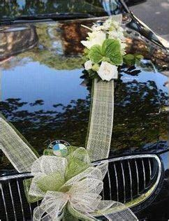 wedding car ribbon how to tie inspiring wedding car decorations using the tulle ribbon