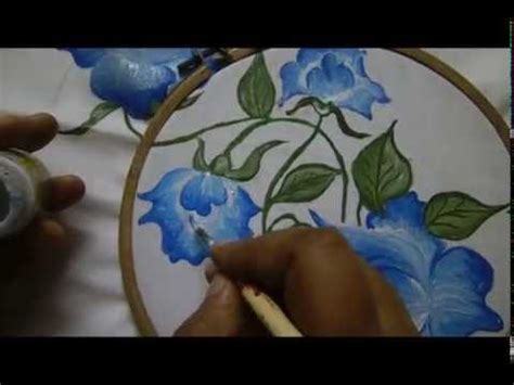 painting designs pillow cover design fabric painting by premlata youtube