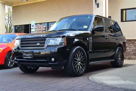 land rover range rover hse pre owned