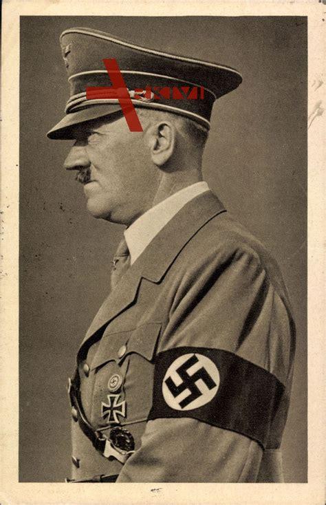 Biografi Von Hitler | f 252 hrer adolf hitler profil von links armbinde ek