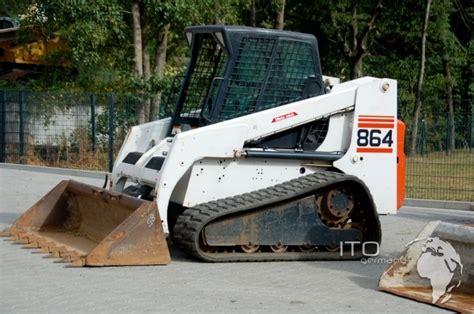 sle of i 864 track loader skid steer loader bobcat 864 used kettenlader