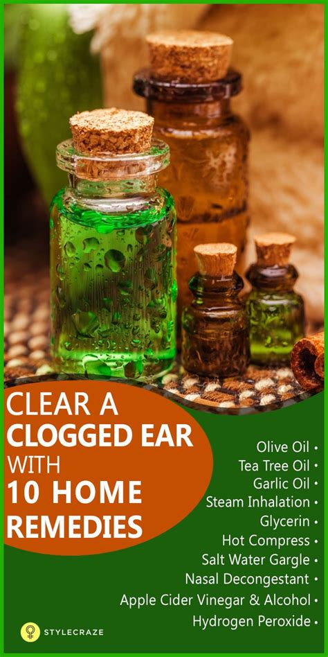 home remedy to unclog top 10 home remedies to get rid of ear congestion clogged