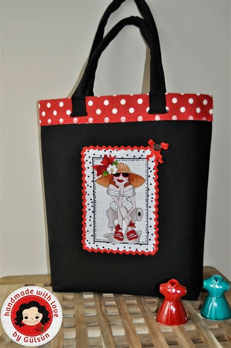 Handmade Tote Bag Patterns - top 24 ideas about loralie fabric on purse