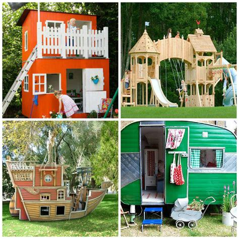 kids cubby house plans woodwork playhouse cubby house plans pdf plans