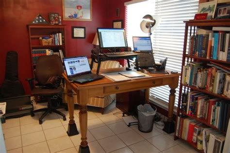 How To Raise A Desk by The Riser Desk A Diy Standing Workspace On The Cheap