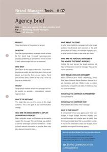 marketing brief template marketing brief sle search marketing forms