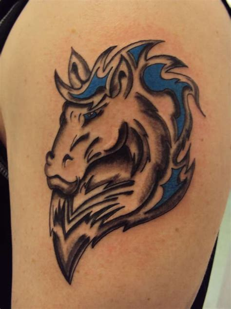 tribal horse tattoo tatto awesome tattoos