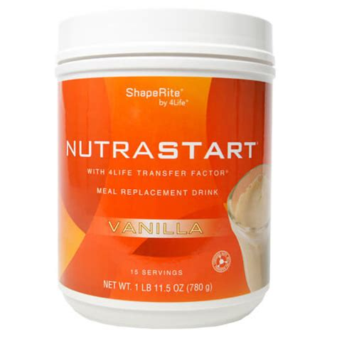 4life En Espaã Ol Detox by 4life Nutrastart Vanilla Is A Meal Replacement Product For