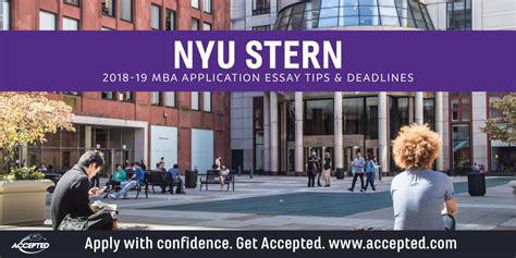 Nyu Mba Program Deadlines by Nyu Mba Essay Tips Deadlines The Gmat Club
