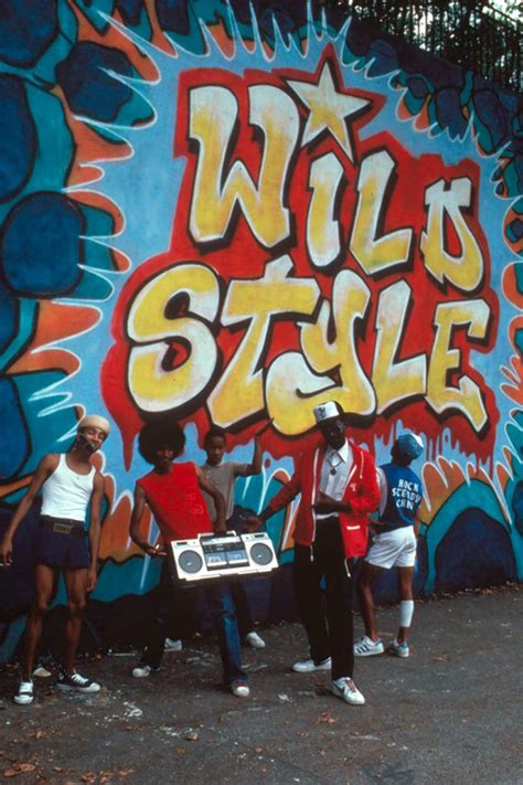iconic  york hip hop film wild style celebrated